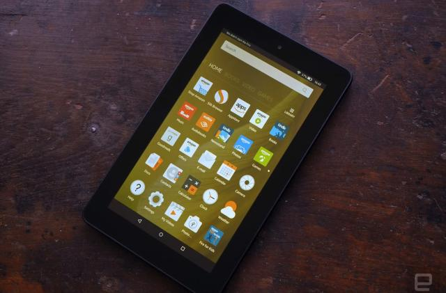 Amazon's 7-inch Fire tablet discounted to £40 in the UK