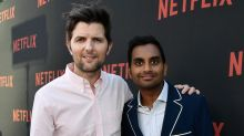 Adam Scott: Aziz Ansari 'is doing great' in the wake of sexual misconduct allegations