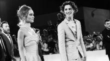 El esmoquin de Timothée Chalamet eclipsa a Lily-Rose Depp en el Festival de Venecia 2019