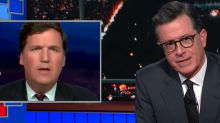 Stephen Colbert Makes Withering Reproduction Request To Fox News' Tucker Carlson