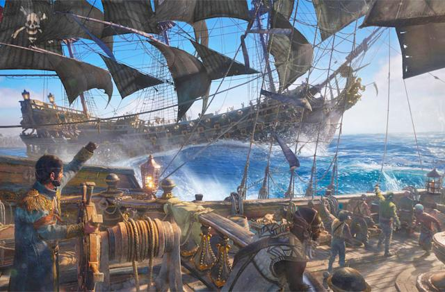 'Skull and Bones' is about pillaging your friends' ships