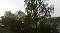 Incredibly Close Lightning Strike