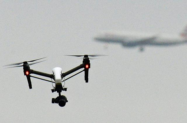 Air traffic controllers may get a break from non-stop drone reports