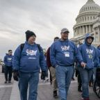 Young anti-abortion marchers look forward to 'post-Roe America'