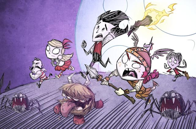 'Don't Starve Together' arrives on PS4 with a huge bundle