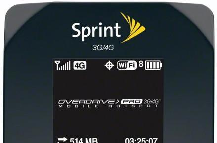 Sprint announces Overdrive Pro 3G / 4G mobile hotspot router, available on March 20th