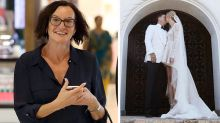 Cassandra Thorburn holds her head high as Karl and Jasmine wed