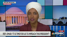 Why Rep. Omar says it's time to impeach 'the worst president we've ever had'