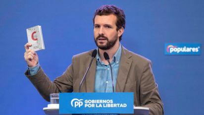 """Casado acusa al Gobierno de usar el pin para tapar el """"escándalo"""" de Delgado"""
