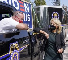 Jill Biden, Doug Emhoff team up in final campaign stretch