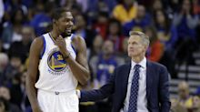 Steve Kerr, Stephen Curry refute report Warriors are 'furious' with Thunder