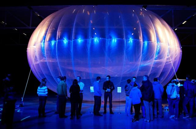 Alphabet's Loon internet balloons broadcast their strongest signal yet