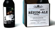 Need a Job? Put Your Resume On Your Beer, Like This Guy