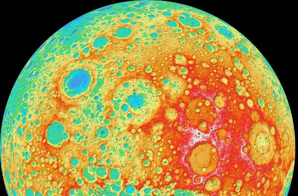 NASA creates high-res Moon map, taunts you about your terrestrial tethers