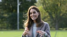 Duchess of Cambridge encourages students to play sport to support their mental health during campus visit