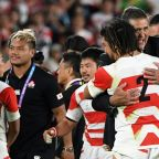 Brave Blossoms lift typhoon-hit Japan with World Cup breakthrough