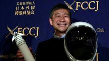 Milionário japonês busca companhia para ir à Lua