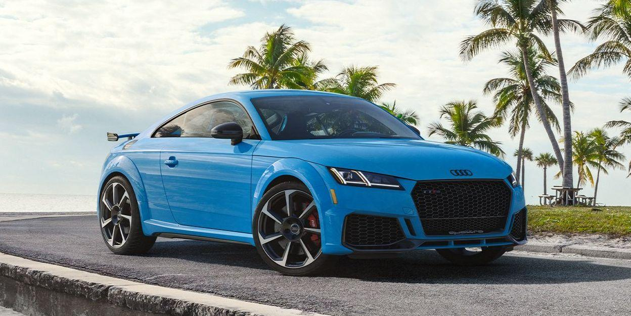 2021 audi tt rs gets more expensive, adds sporty details