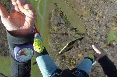 Encased iPad survives 1300 foot drop, because why not?