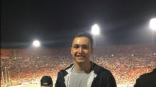 Fraternity brother dies after being hit by friend with a pellet gun during party