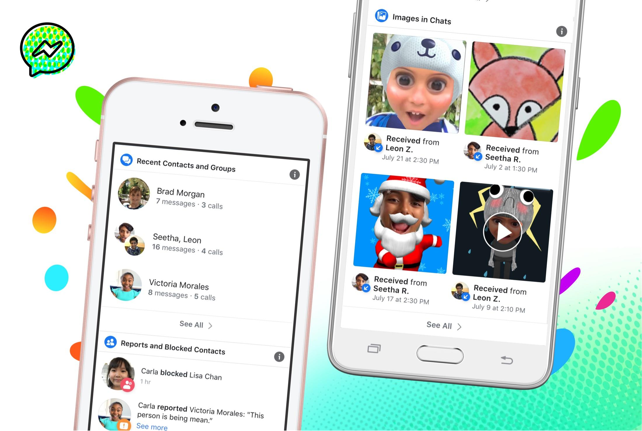 Facebook Gives Parents More Control Over and Information On Messenger Kids