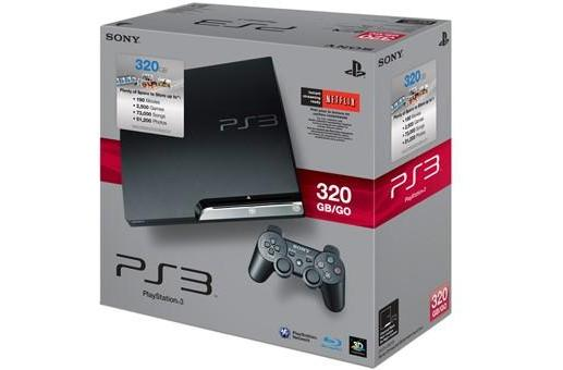 Standalone 320GB PS3 shipping to stores today