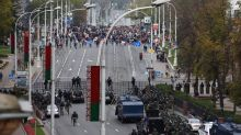 Protesters march through Belarus as opposition threatens national strike