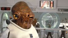 Admiral Ackbar actor isn't happy with how he was killed off in 'Star Wars: The Last Jedi'