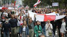 Wieder Massenproteste gegen Lukaschenko in Belarus