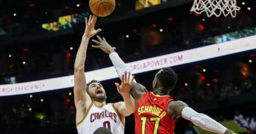 Basket - NBA - NBA : Cleveland s'effondre à Atlanta