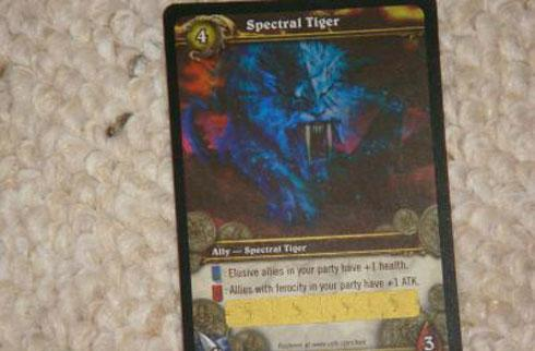 World of Warcraft's Spectral Tiger sells for $2000