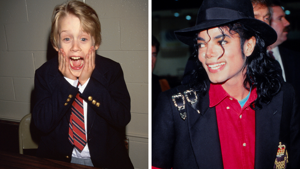 Macaulay Culkin jokes about Michael Jackson abuse