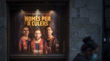 Barca wirbt mit Messi - Fans wüten