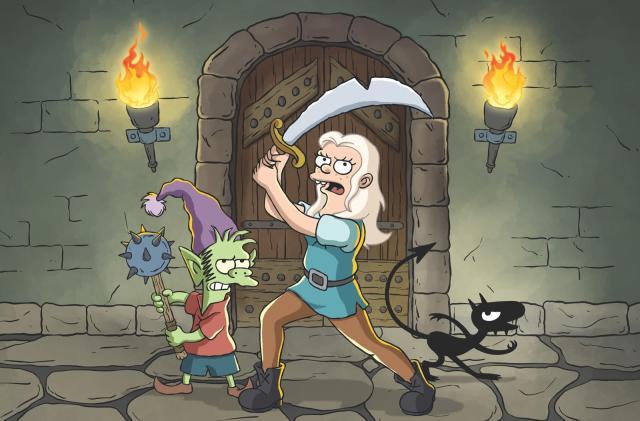 Netflix orders more of Matt Groening's 'Disenchantment'