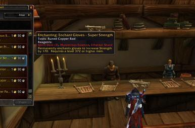 Lichborne: Mists of Pandaria gems and enchants for death knights