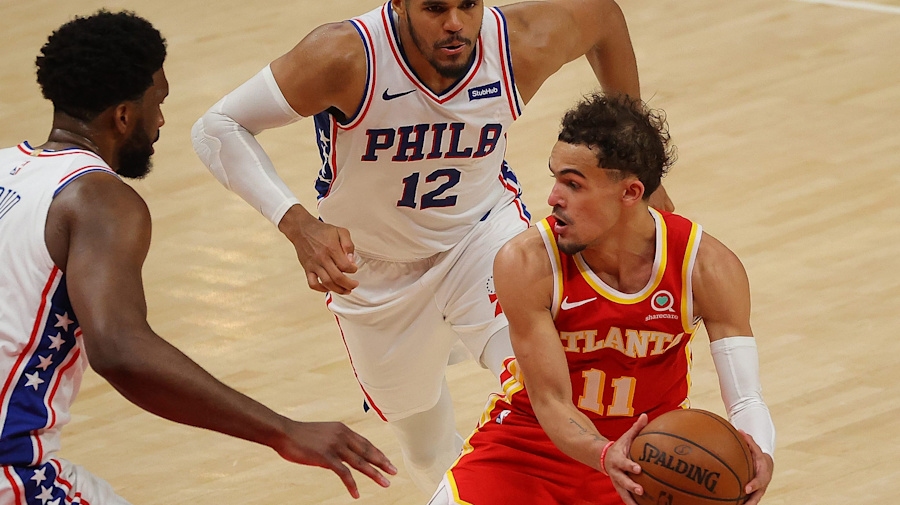 Sixers are smothering Trae Young to great effect