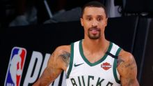 Bucks' George Hill returns to Milwaukee to encourage voting