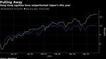 Hong Kong ultrapassa Japão como maior mercado acionário do mundo