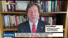 AmCham China Says U.S. Businesses' Pessimism Increased