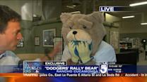 Exclusive: The Dodgers Fan in the `Rally Bear` Costume