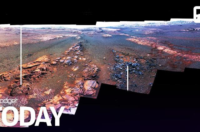 NASA releases the final panorama that Opportunity took on Mars