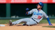 Dodgers CF Bellinger Has Hairline Fracture in Left Leg