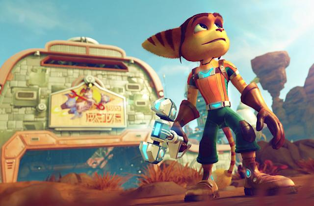 Sony will offer 'Ratchet and Clank' PS4 for free, no PS Plus required
