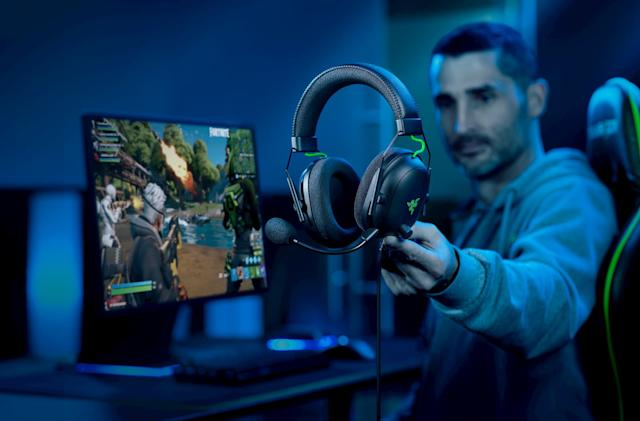 Razer updates its BlackShark headset with THX spatial audio