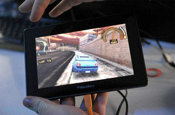 RIM adds Android app support to BlackBerry PlayBook via 'optional app player'