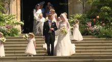 Royals celebrate Lady Gabriella Windsor wedding