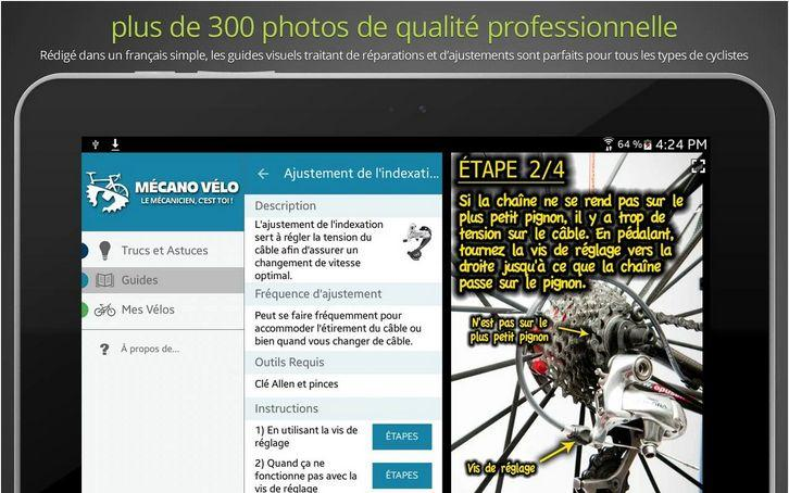 58 repair guides and 95 tips and tricks with visual guides and precise photos provide the solution to every problem.