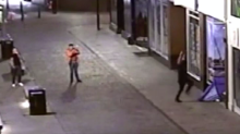 Two charged with assault over video showing men kicking tent with homeless people inside