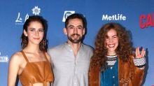 Camila, Luis Gerardo y Tessa van Camino A Marte