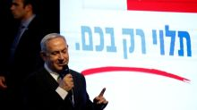 Netanyahu takes centre stage in Israeli election battle